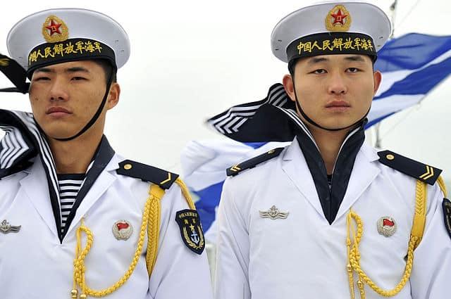 Chinese PLAN sailors, Qindao