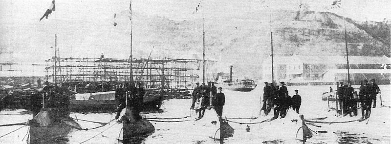 First IJN submarines