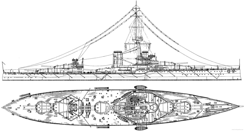 Orion class battleships 1911 blueprint hms monarch malvernweather Images