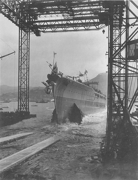 Launch of the Tosa, 1919