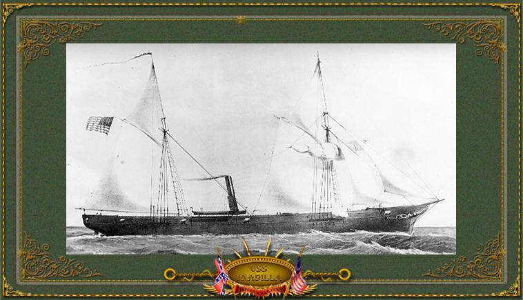 USS Unadilla under construction