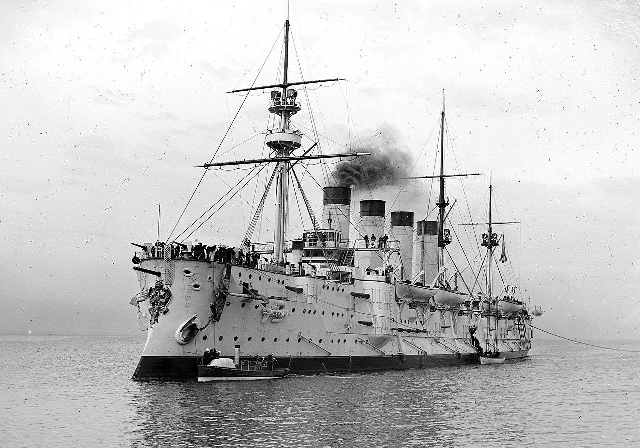Gromoboi visiting Australia in 1901