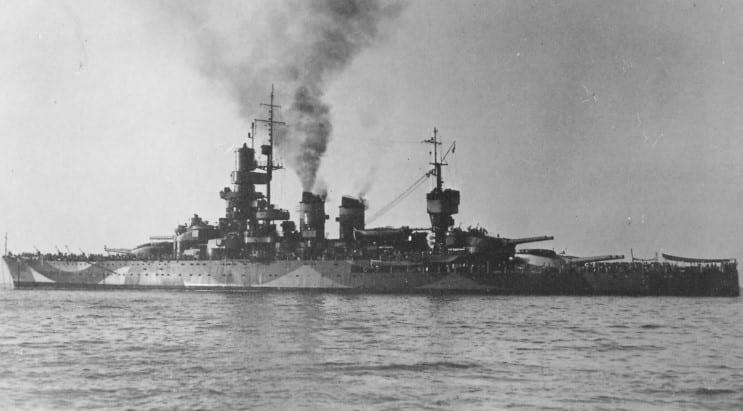 Andrea Doria en route to Malta
