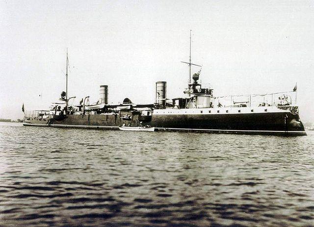 Tupy class torpedo cruiser