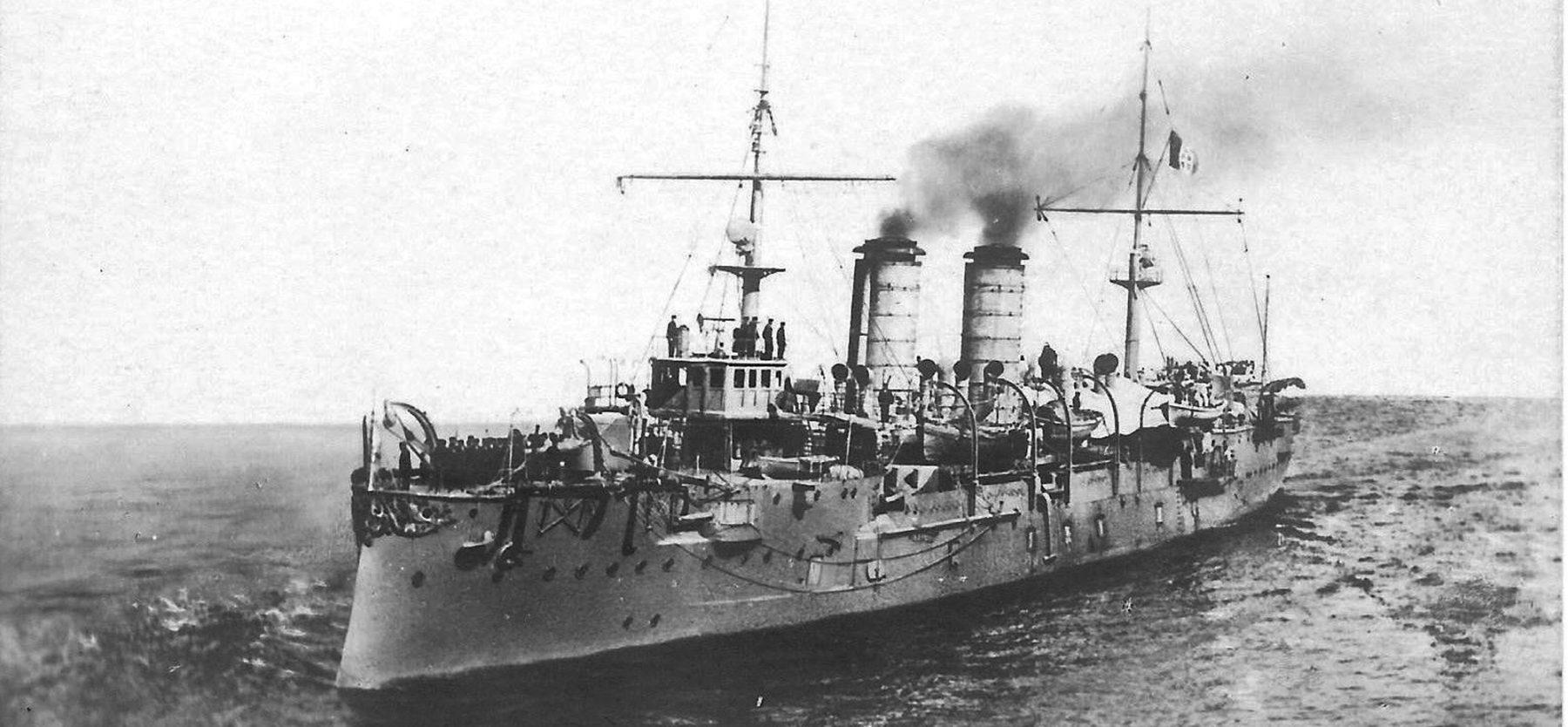HD rendition of the ship (Postcard), wikimedia cc
