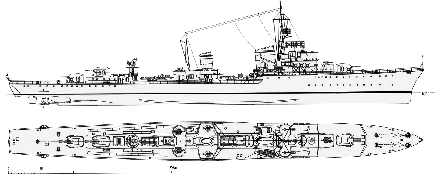 German reconstitution of the 1936C class design - JüEi