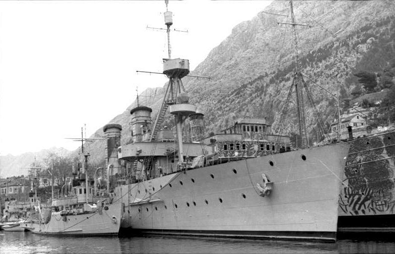 Ex-Niobe (Dalmacija) in Yougoslav service