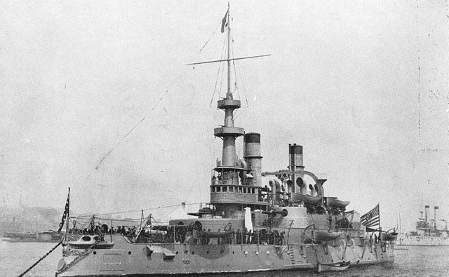 USS Indiana 1898