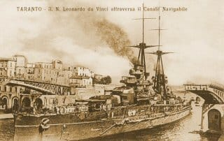 Battleship Leonardo Da Vinci in Tarento