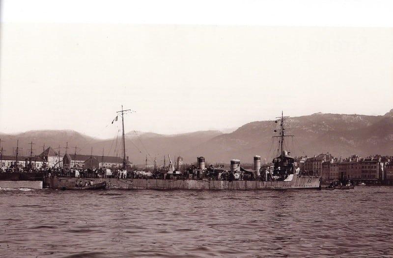 Arabe type destroyer, 1917