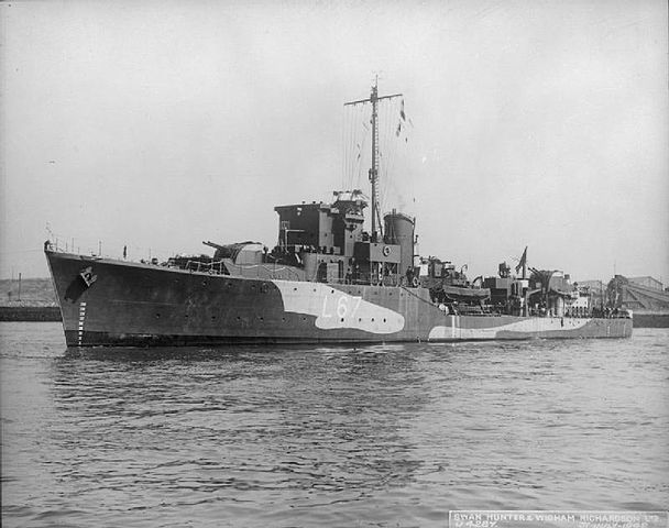 HHMS Adrias in service (IWM FL192)