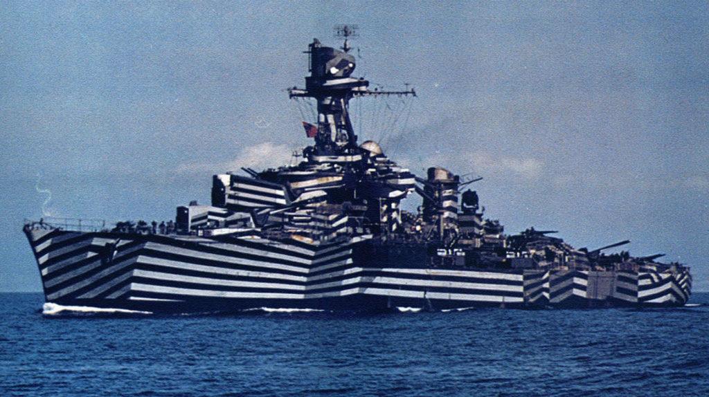 Camouflaged Gloire 1944
