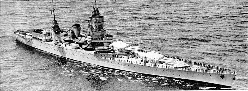Dunkerque in 1938, ONI