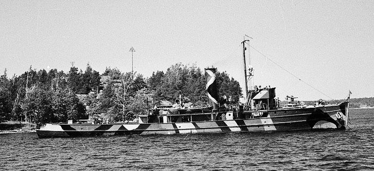 Minelayer Karjala in June 1941