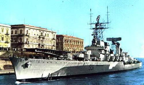 Modernized Garibaldi 1961