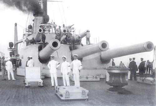 Gun turret of SMS Tegetthoff