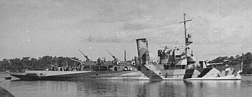 Minelayer Hameenmaa in 1941