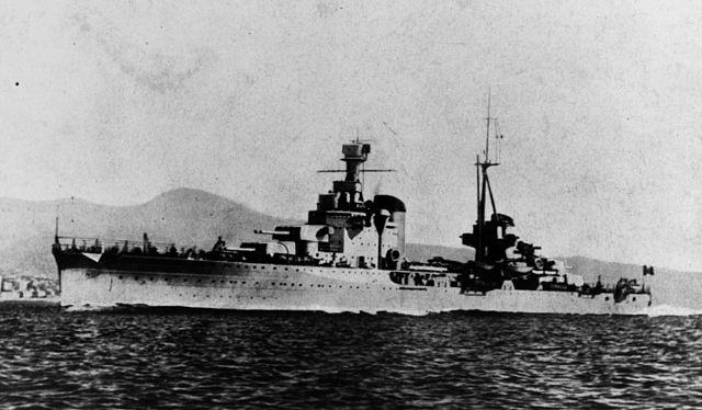 Cruiser Bolzano as built