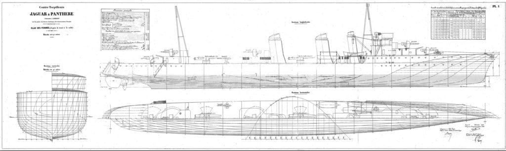 Jaguar blueprints