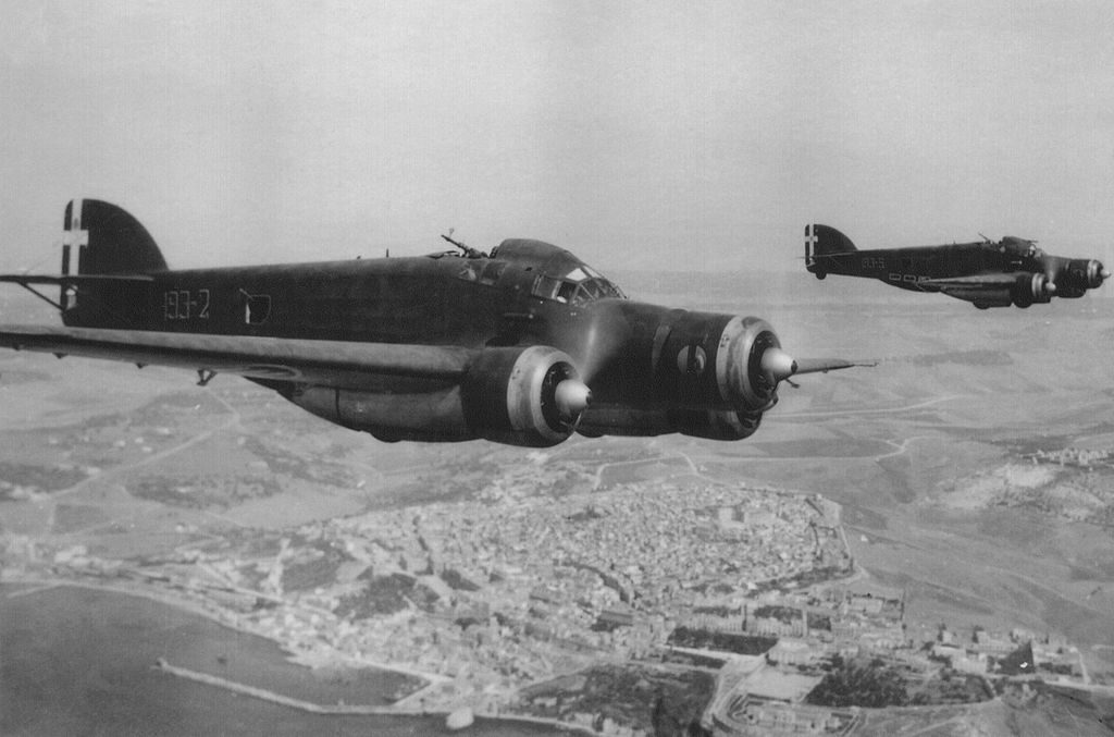 SM76 Sparviero, which proved to be a redoubtable torpedo bomber