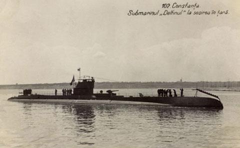 Submarine Delfinul