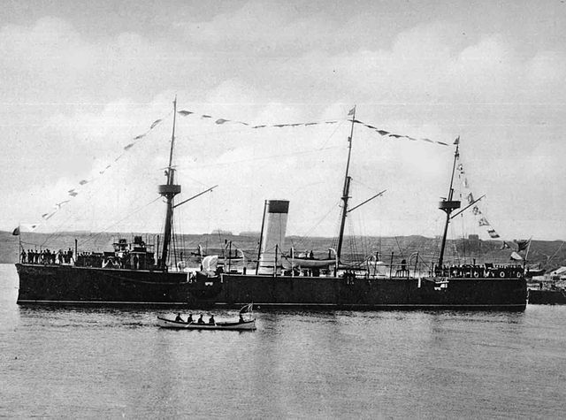 Romanian cruiser Elisabeta 1888