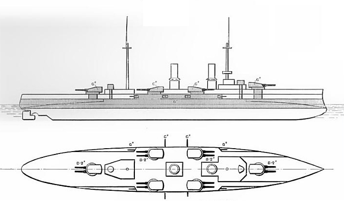 SMS Blücher class armoured cruiser