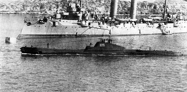 Soviet submarine of the Shch class