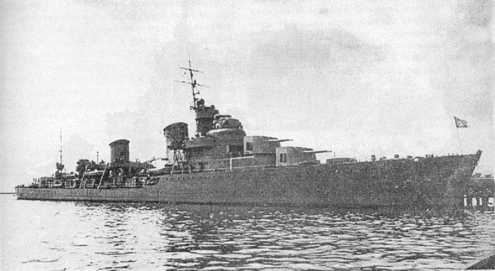 Tashkent scrapped in 1943
