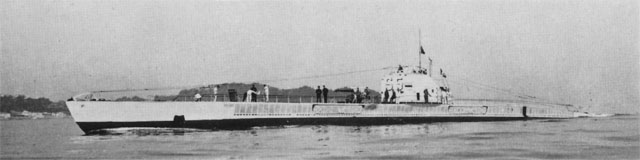 French Submarine Mores - Q117