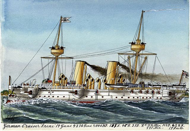 SMS Irene by James Scott Maxwell