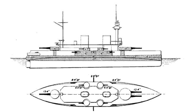 Battleship Brennus