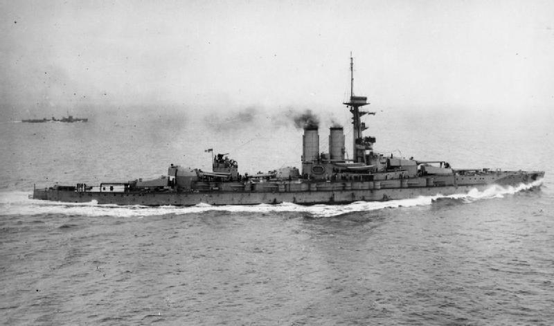 HMS_Erin_in_Moray_Firth_1915-IWM