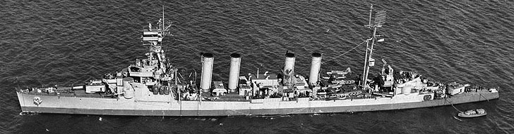 USS cincinatti off NY City 22 March 1944