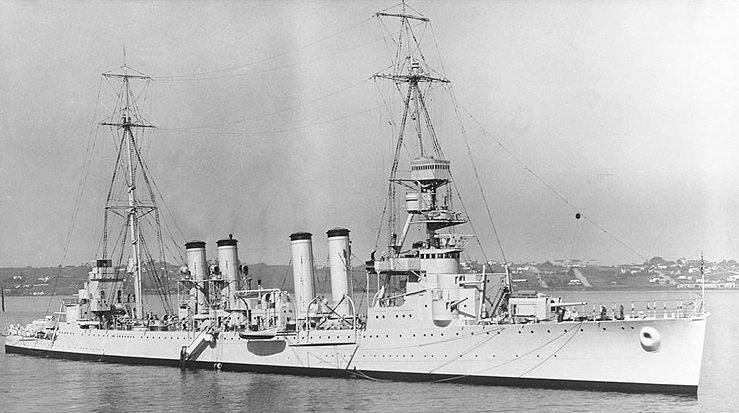 USS Marblehead, early 1930s