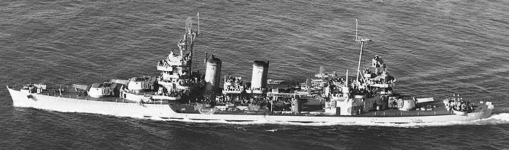 USS Minneapolis 1943