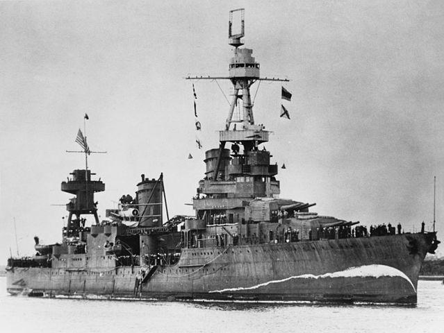 USS_Northampton_Brisbane_5_August_1941