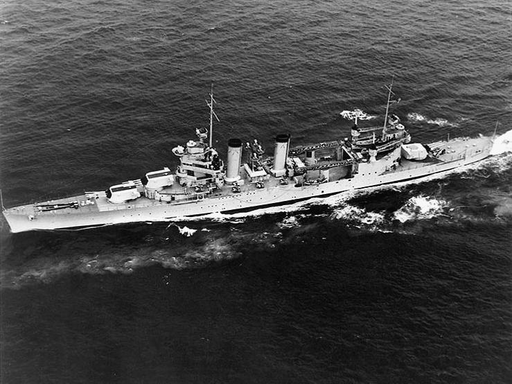 USS Quincy 1940