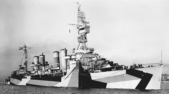 USS Trenton on San Francisco Bay 11 August 1944