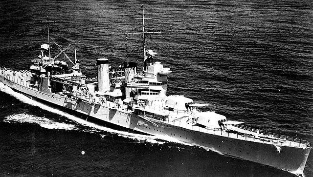 USS Tuscaloosa 23 August 1935