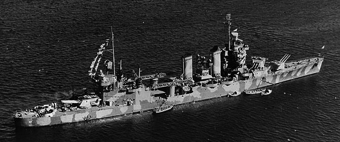 USS Tuscaloosa Scapa Flow 1942