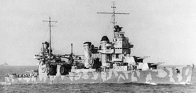 USS Vincennes in the Solomons 1942 en route to guadalcanal