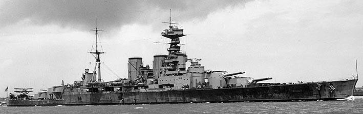 HMS Hood circa 1932