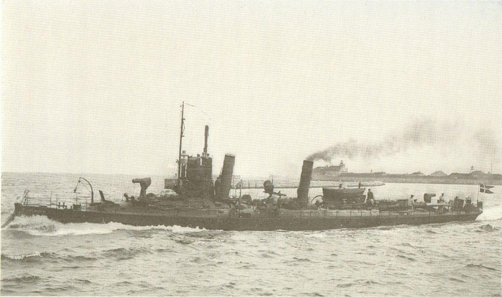 Danish torpedo boat Søløven