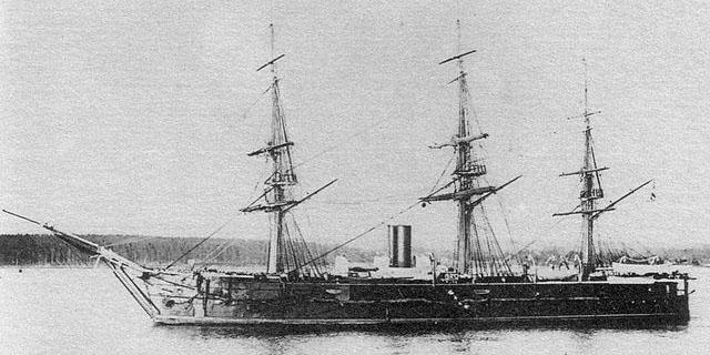Gertsog Edinburgskiy in 1880