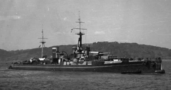 HMS-Centurion-masquerading-as-HMS-Anson