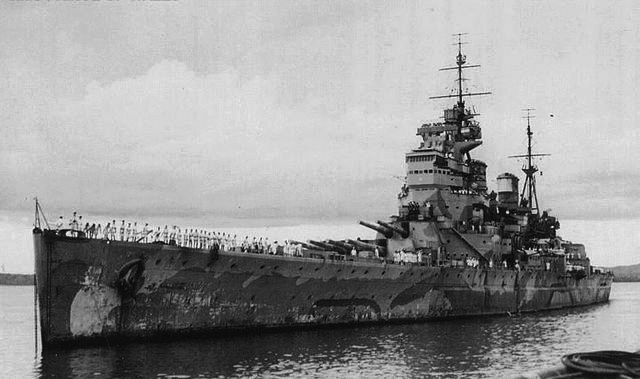 HMS Prince of Wales in Singapore