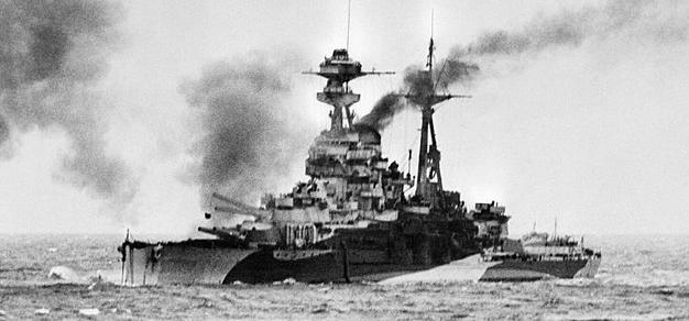 HMS ramilies Normandy 1944
