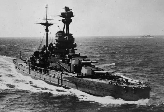HMS Revenge, date unknown