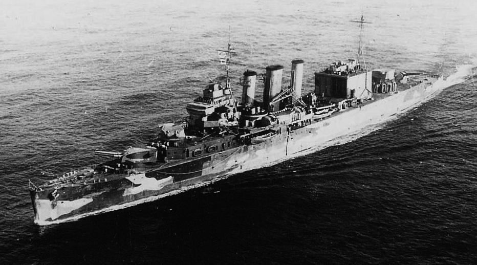 HMS Suffolk in May 1941